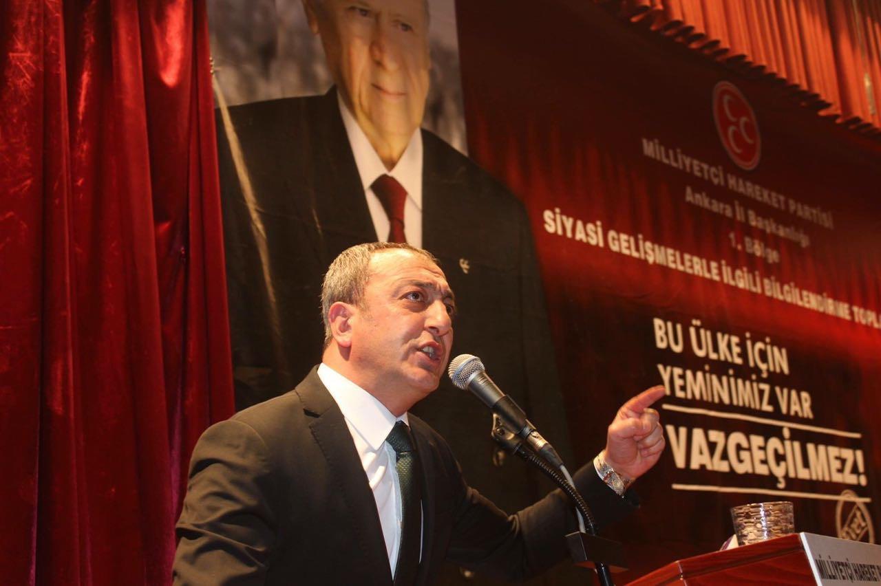 """MHP'li Çetinkaya: Ankara'da """"İmarda ibretlik  olaylar yaşanıyor"""""""