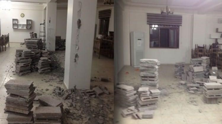HDP'li belediye Kuran kursunu yıktı!