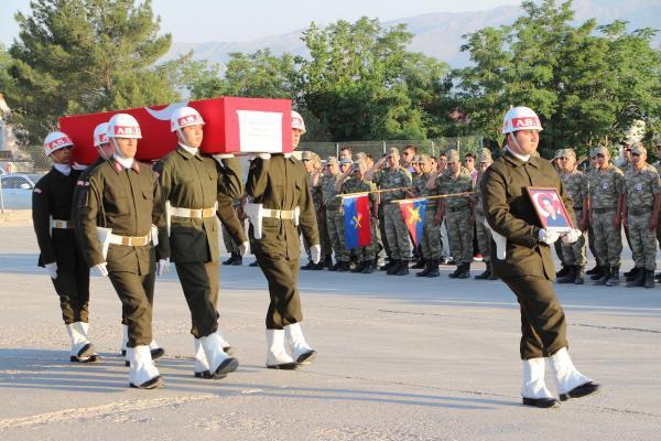 Şehit Güvenlik Korucusu Törenle Son Yolculuğuna Uğurlandı