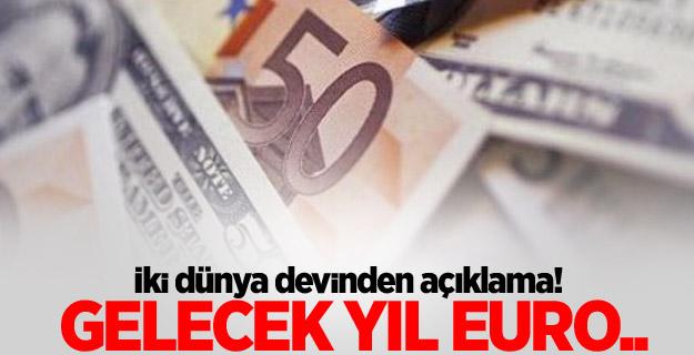 Doların 2014 rallisinin ardından şimdi sıra euroda