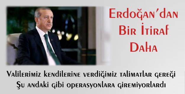 Cumhurbaşkanı Erdoğan'dan Bir Çözüm Süreci İtirafı Daha...