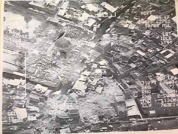 IŞID, Musul'da Tarihi Camiyi Yok Etti