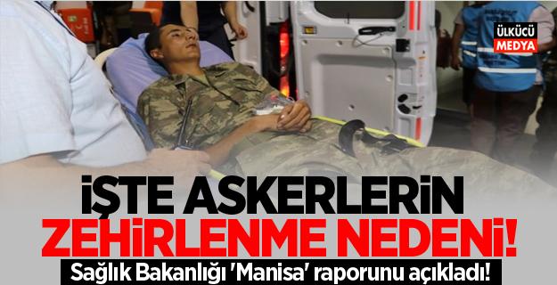 Sağlık Bakanlığı 'Manisa' raporunu açıkladı!