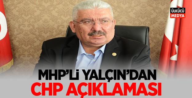 MHP'li Semih Yalçın'dan CHP Açıklaması