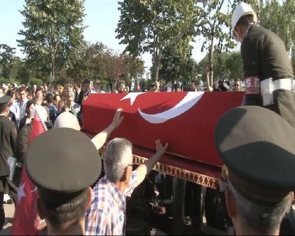 Şehit Üsteğmen Arif Kalafat Son Yolculuğuna Uğurlandı