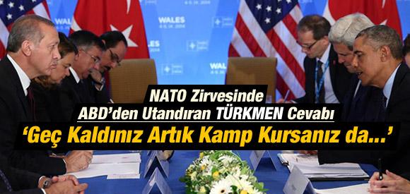 NATO ZİRVESİ'NDE TÜRK HEYETE ŞOK CEVAP !