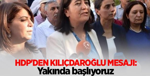 HDP'den Kılıçdaroğlu mesajı