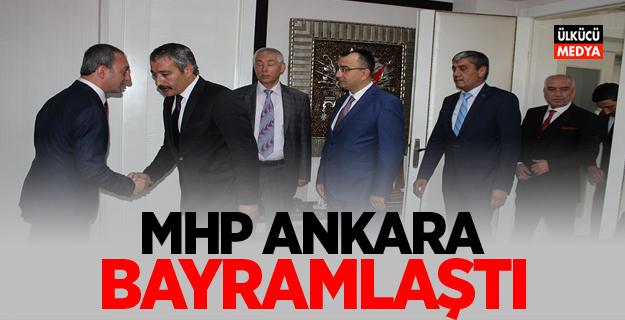 MHP Ankara bayramlaştı