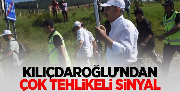 Kılıçdaroğlu'ndan çok tehlikeli sinyal