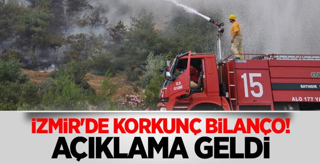 İzmir'de korkunç bilanço! Açıklama geldi