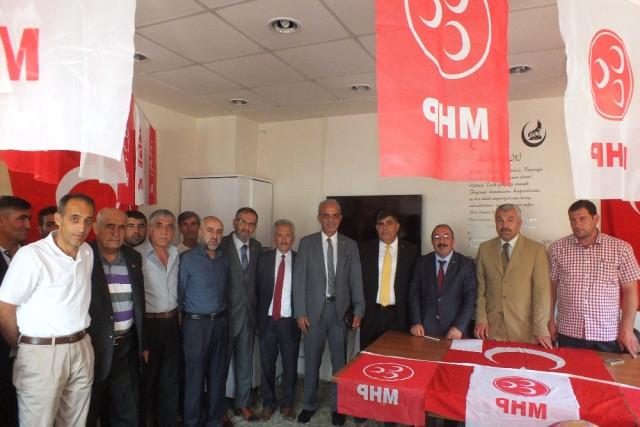 MHP Malazgirt İlçe Teşkilatı Olağan Kongresini Yaptı