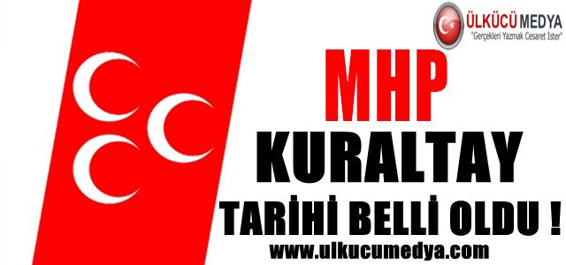 MHP KURULTAY TARİHİ BELLİ OLDU !