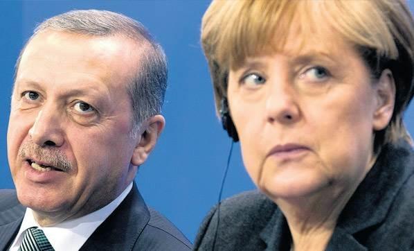 Merkel Cumhurbaşkanı Erdoğan ile görüşecek...