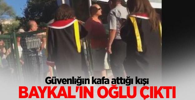 ODTÜ'de kafa atılan kişi Baykal'ın oğlu çıktı!