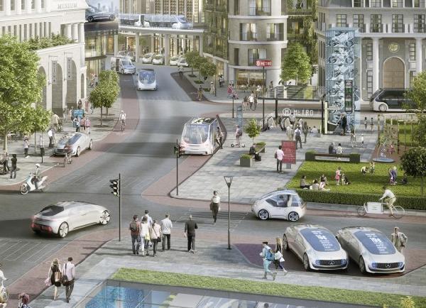 Almanya'da Robot Taksi Uygulaması Gelecek Yıl Başlıyor