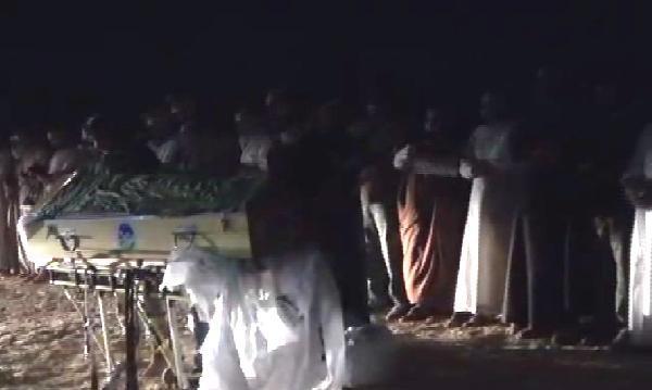 Vahşetin Kurbanları Suriye'de Toprağa Verildi