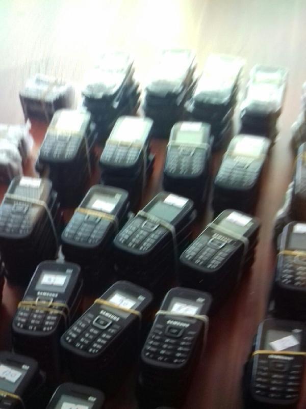 Kayseri'de 125 Adet Kaçak Cep Telefonu Ele Geçirildi