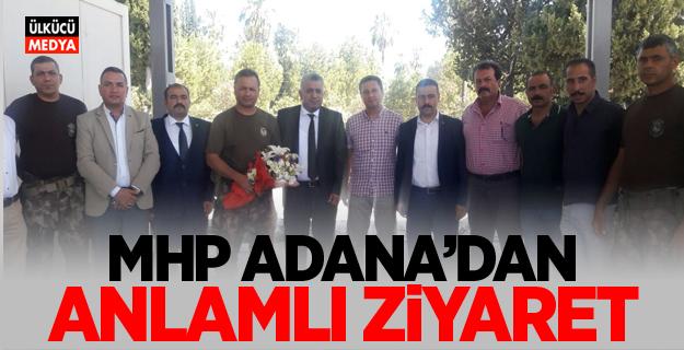 MHP Adana'dan anlamlı ziyaret!