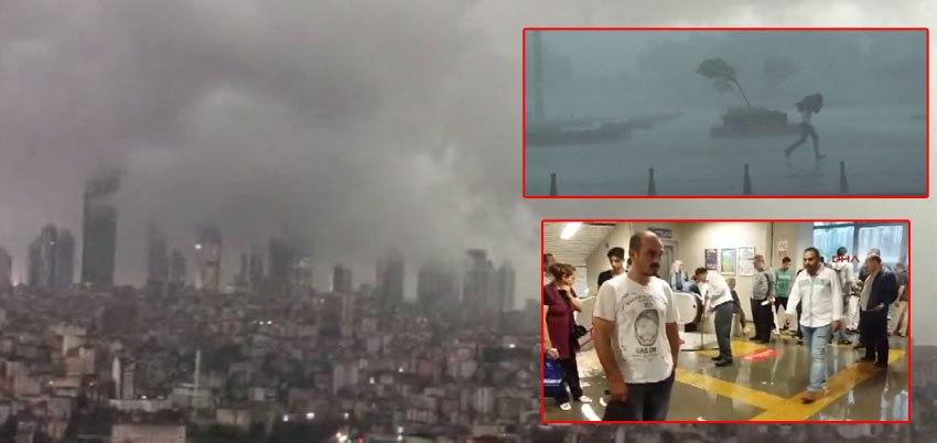 İstanbul ve Marmara Genelinde Sağanak Yağmur Etkili Oldu