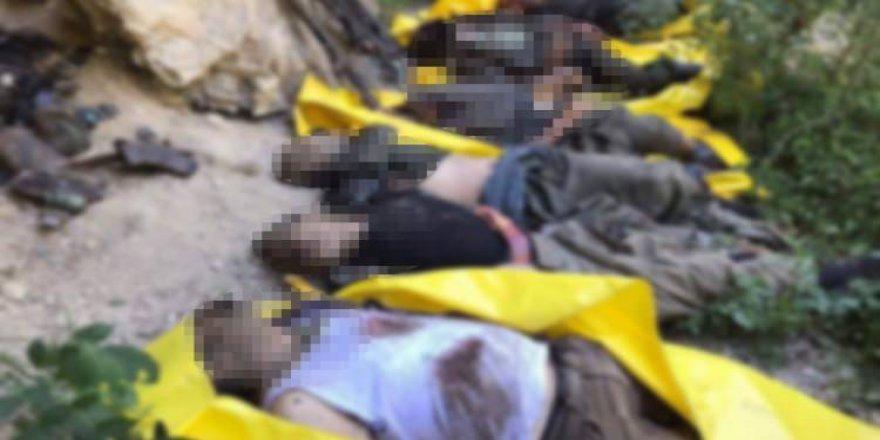Öğretmeni şehit eden PKK'lıların son hali!