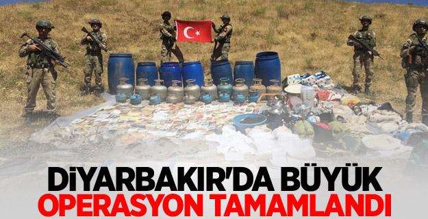Diyarbakır'da büyük operasyon tamamlandı