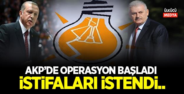 AKP'de Operasyon Başladı! İstifaları İstendi..
