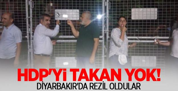 HDP'nin tencere tava eylemi fiyaskoyla sonuçlandı