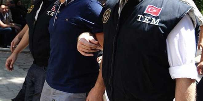 7 İlçede Terör Operasyonu; 12 Gözaltı