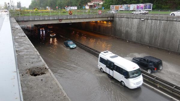 Yağmur Eskişehir'de Etkili Oldu