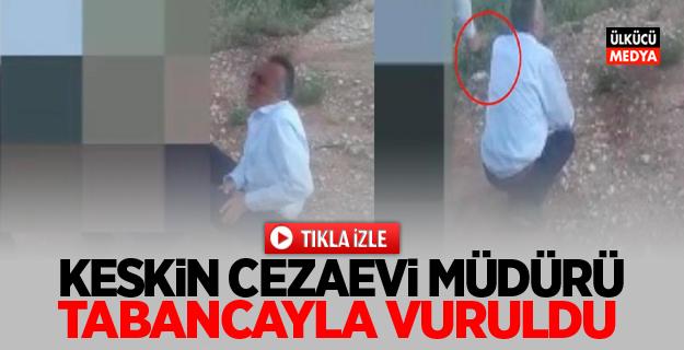 Keskin Cezaevi Müdürü Zafer Çolak Tabancayla Vuruldu