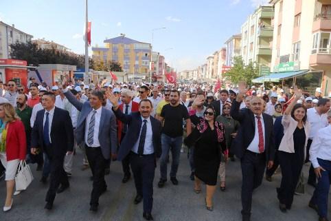 Etimesgut Uluslararası Anadolu Günleri Kültür ve Sanat Festivali  başladı.