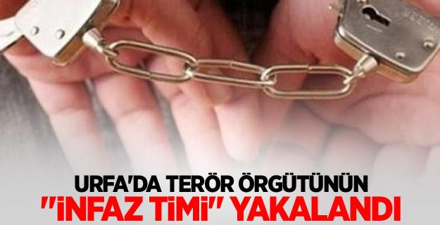 """Urfa'da terör örgütünün """"infaz timi"""" yakalandı"""