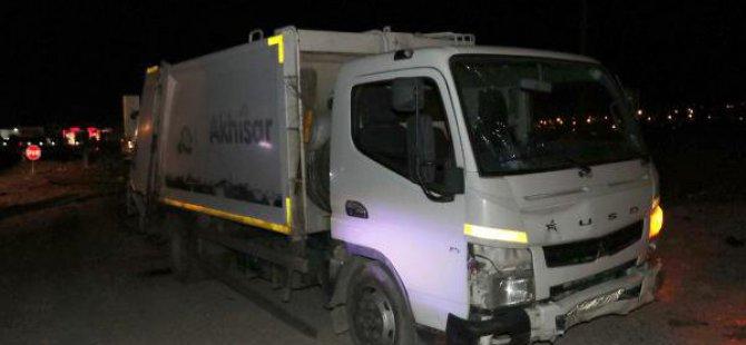 Çöp Kamyonuyla Çarpışan Elektrikli Bisiklet Sürücüsü Öldü