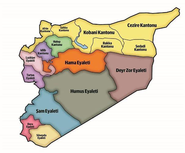 İşte, ABD'nin Suriye'yi bölme planı...