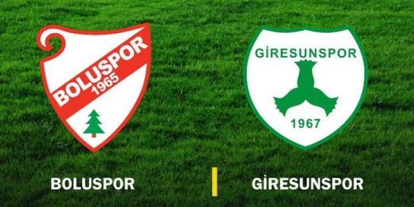 Boluspor (2-2) Giresunspor