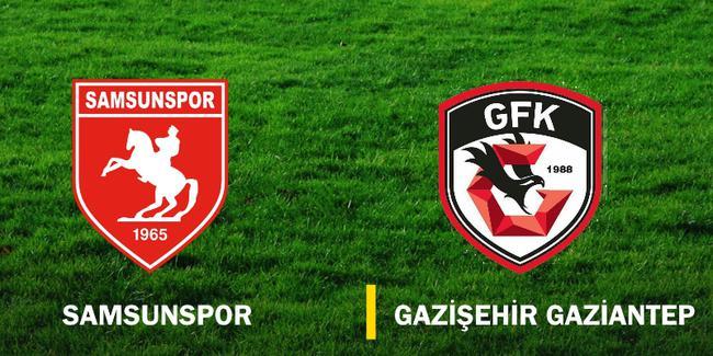 Samsunspor (0-0) Gazişehir Gaziantep