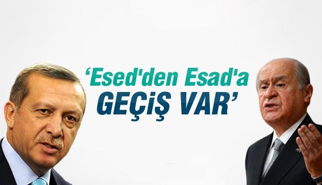 Devlet Bahçeli: Esad'dan Esed'e, Esed'den Esad'a Dönüş Vardır