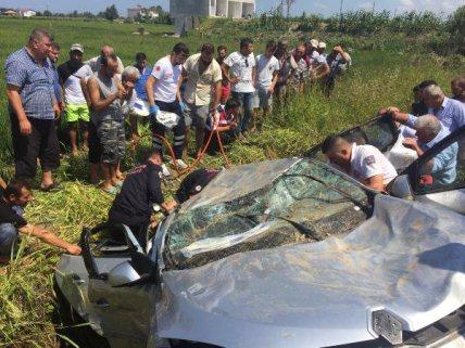 Samsun'da Kamyonetle Otomobil çarpıştı: 2 Ölü, 3 Yaralı