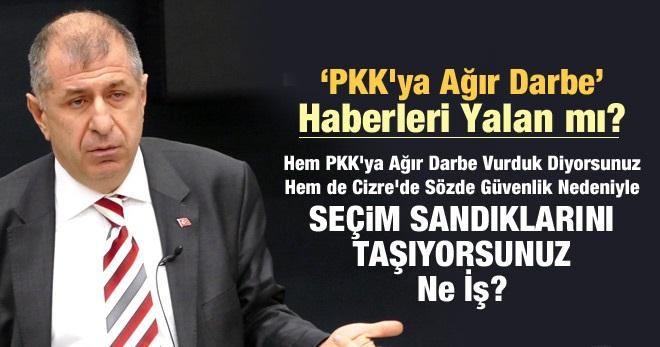 MHP'li Özdağ'dan Çok Önemli Açıklamalar