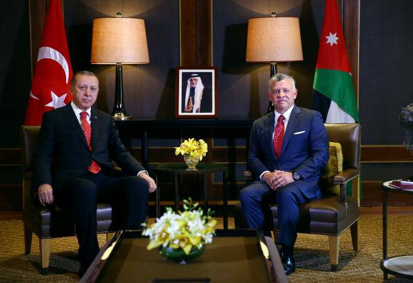 Cumhurbaşkanı Erdoğan, Ürdün Kralı 2. Abdullah İle Görüştü
