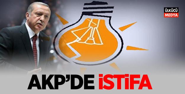 AKP'de İstifa