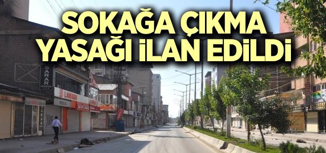 Bismil'de 4 mahallede sokağa çıkma yasağı