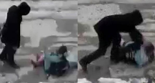 9 yaşındaki kızını tekme- tokat döven Baba tutuklandı