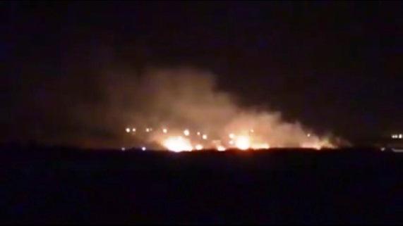 Erbil'de Peşmerge  Mühimmat Deposunda Patlama