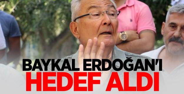 Deniz Baykal, Cumhurbaşkanı Erdoğan'ı Hedef Aldı