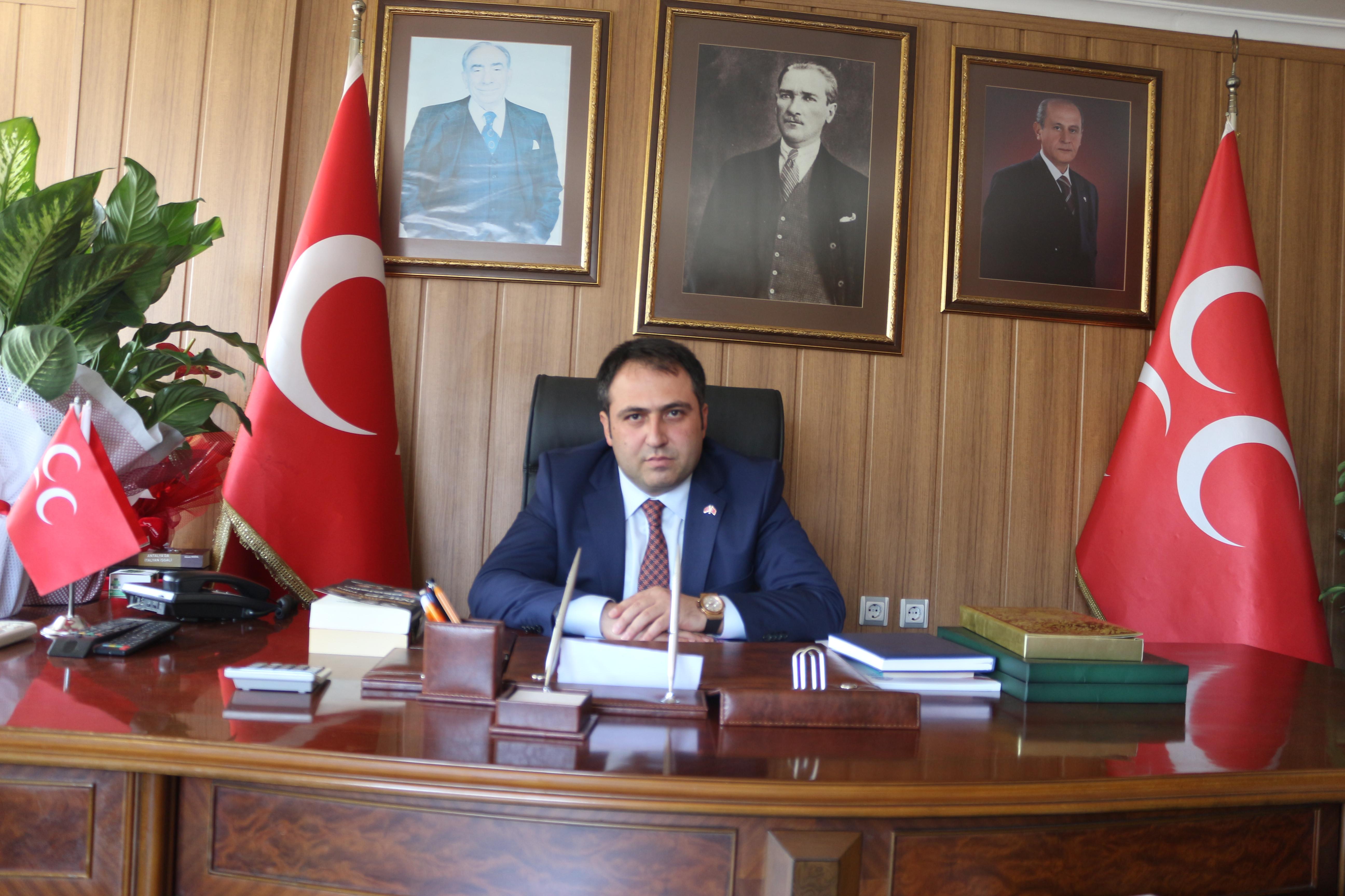 MHP Antalya'dan 30 Ağustos Mesajı