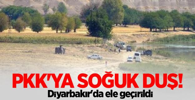 PKK'ya soğuk duş! Diyarbakır'da ele geçirildi