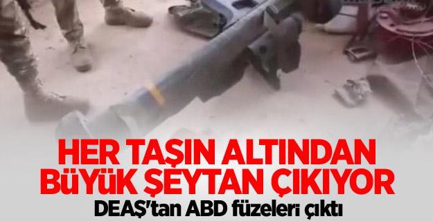 DEAŞ'tan ABD füzeleri çıktı