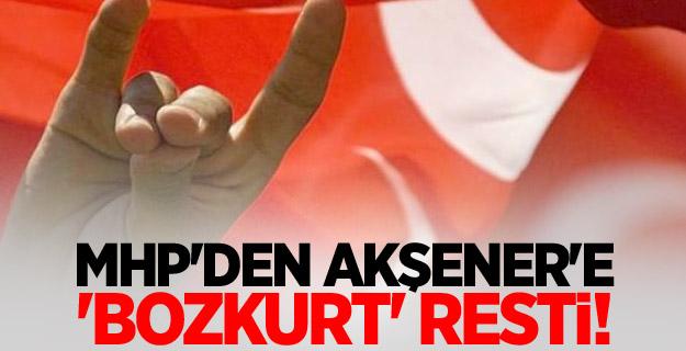 MHP'den Akşener'e 'Bozkurt' resti