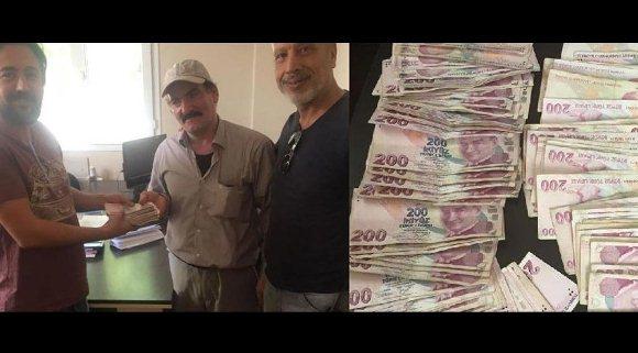 Taşındığı evde bulduğu parayı harcadı, başı derde girdi...